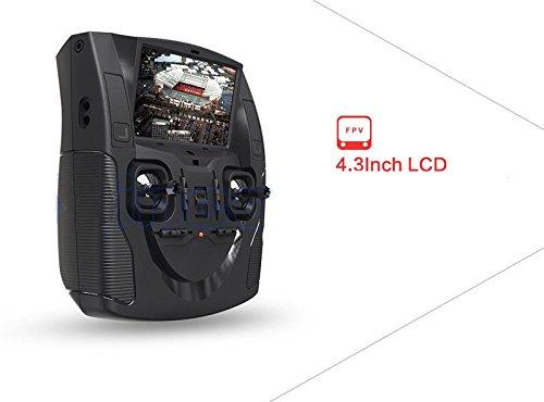 Ollivan® Hubsan X4 Plus H107D + Aktualisierte Version FPV Quadcopter 2.4GHz + 5.8GHz 6-Achsen 720P Kamera mit 4 LED Leuchten Nacht RTF Video Übertragung(Hubsan H107D+) - 5