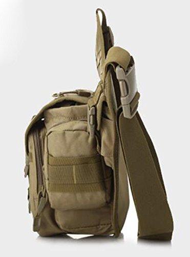 Multifunzione petto Pack zaino uomini e donne tattica militare stile piccolo petto borsa camouflage all' aperto tela petto Pack tracolla messenger, army green army green