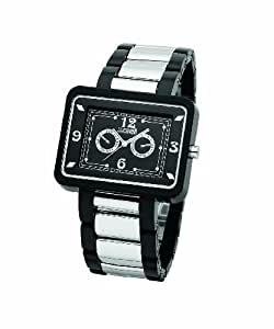 Just Cavalli Mädchenuhr Quarz BLACK&WHITENoir