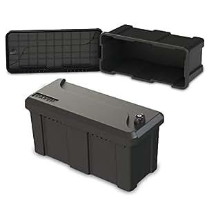 25l unterbaubox oder deichselbox f r pkw anh nger pritschenfahrzeuge lkw anh nger staubox. Black Bedroom Furniture Sets. Home Design Ideas