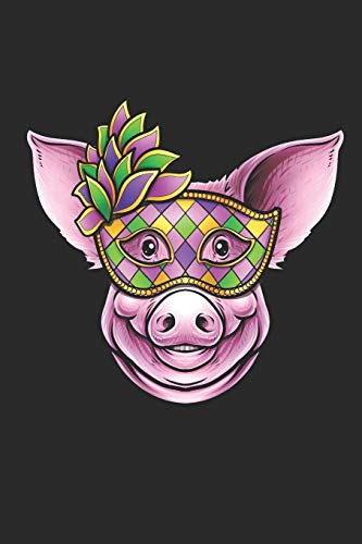 Mask: Blank Lined Notebook for Pig Lovers and Farmers ()