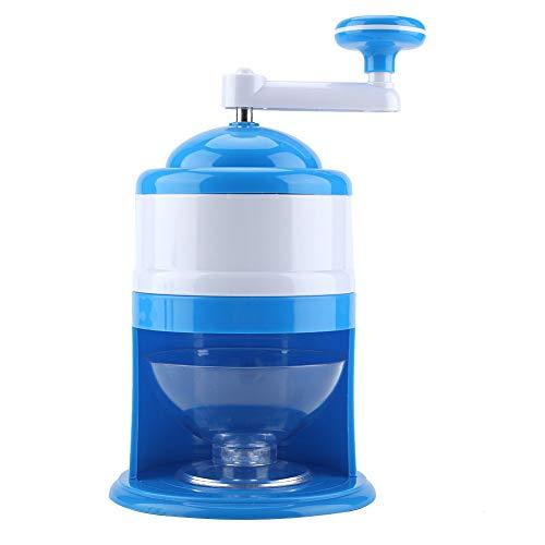 Ice Grinder Machine, tragbare Handkurbel Manuelle Ice Crusher Crusher Eismaschine für Home Kitchen Party und Feier