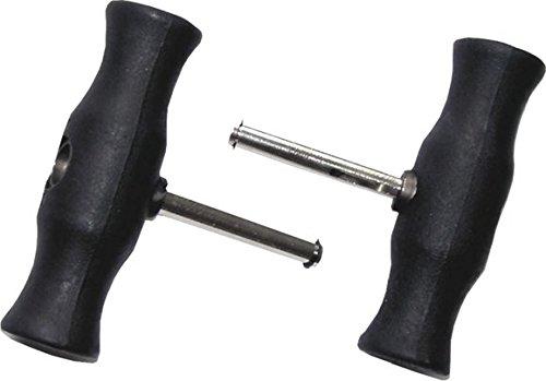 SW-Stahl Griffpaar für Scheibendraht, 40002L-3