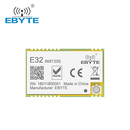 Price comparison product image EBYTE E32-868T20S SX1276 868MHz 100mW SMD Wireless Transceiver 868 mhz TTL 2000m Long Range LoRa IPEX Transmitter and Receiver