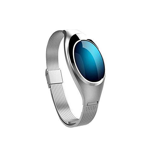 Fitness Armband für Frauen Schrittzähler Fitness Tracker Pulsmesser Fitnessuhr IP67 Wasserdichte Bluetooth Aktivitätstracker Kalorienzähler Herzfrequenzmesser mit Sleep Monitor für Android und iPhone