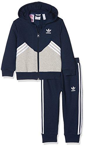 adidas Kinder Fleece Set, Conavy/Mgreyh, 80