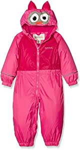 Regatta Girls Mudplay Padded Rainsuit - Jem, Size 12-18m