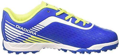 Diadora Herren 7fifty Tf Indoor-Fußball-Schuhe Blau (Azzurro/bianco)