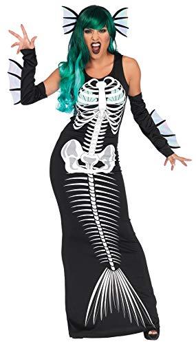 GYH Leg Avenue Skeleton Siren Kostüm Halloween Kostüme Party Sammlung,S
