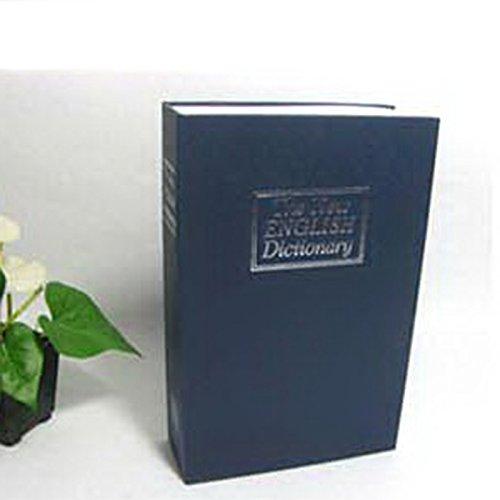 Anyutai Kleines Mini-Wörterbuch für die Sicherheit zu Hause Schlüsselwörter Safe/Lock Box/Lagerung/Sparschwein - Ultra small Blue