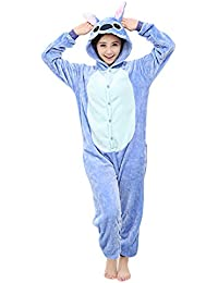 Yimidear Unisexe Hot Adulte Pyjamas Cosplay Costume d'animal Onesie de Nuit de Nuit