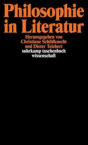 Philosophie in Literatur (suhrkamp taschenbuch wissenschaft)