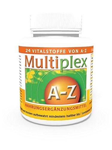 Vita World Multivitaminico A-Z 100 Compresse Vitamine e Minerali Made in Germany