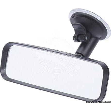 Osculati 48 437 05 Specchietto sci con ventosa Ski naut mirror suction pad