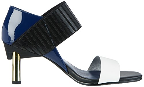 United nude Mira Sandal, Sandales  Bout ouvert femme Mehrfarbig (navy Mix)