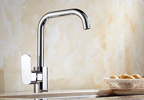 Bijjaladeva Antike Küche Spülbecken Küche Wasserhahn voll Kupfer den Tank spülen Töpfe Winkelstück blender zu drehen. (Topf Blender)
