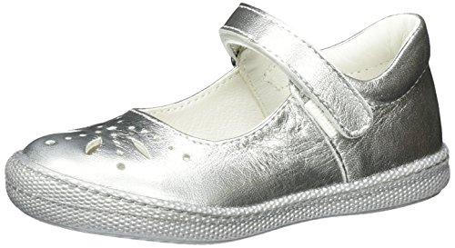 Primigi Ptf 7186, Mary Jane Bambina, Argento (Alluminio), 30 EU