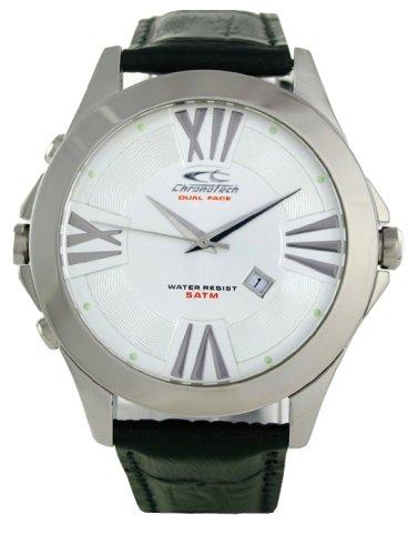 Chronotech Ct.7636m/01 Dual Face Chronograph Mens Watch