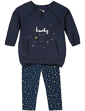 3 pommes Baby-Mädchen Unterwäsche-Set Robe+Legging