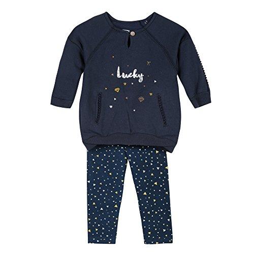 3 pommes Baby-Mädchen Unterwäsche-Set Robe+Legging, Blau (Marineblau), 3-6 Monate Preisvergleich