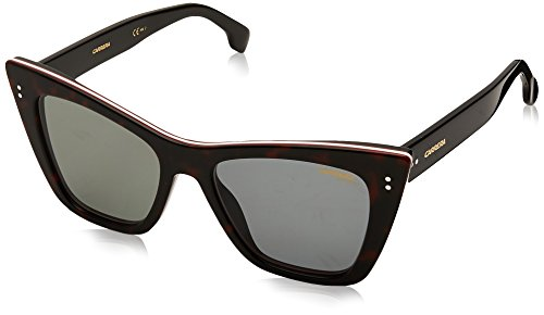 Carrera Damen 1009/S HA 086 Sonnenbrille, Braun (Dark Havana/Bw Black Brown), 52