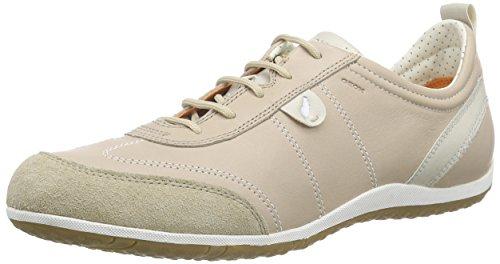 Geox  D Vega A,  Sneaker donna, Beige (Beige (LT TAUPEC6738)), 40
