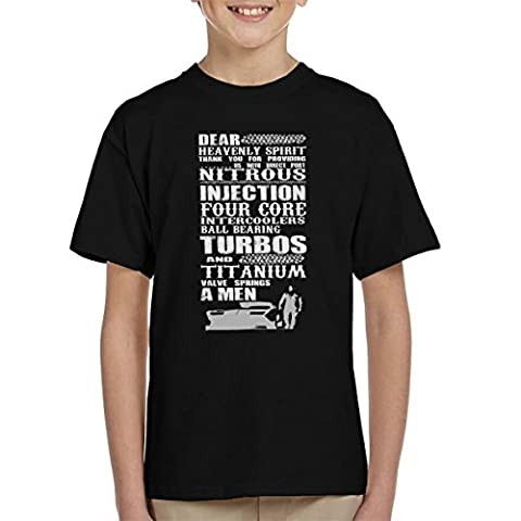 Thank The Heavenly Spirit For Cars Kid's T-Shirt