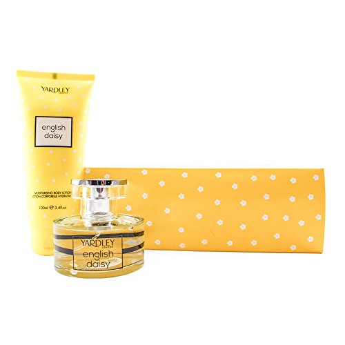 Yardley London Daisy Coffret: Eau De Toilette Spray 50ml + Moisturising Body Lotion 200ml 2pcs