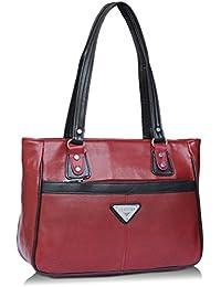 Fantosy Maroon And Black Women Shoulder Bag (maroon And Black) (FNb-770)