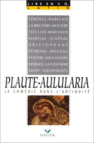 plaute-aulularia-la-comdie-dans-l-39-antiquit