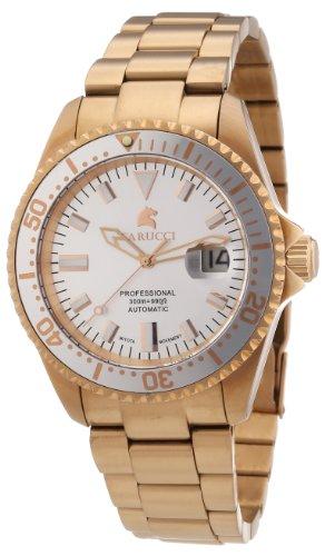 Carucci Watches Herren-Armbanduhr XL Calabria Analog Automatik Edelstahl CA2185RG