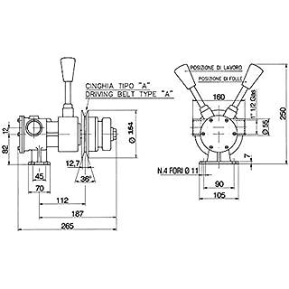 ANCOR Pump PM PM40F with Clutch