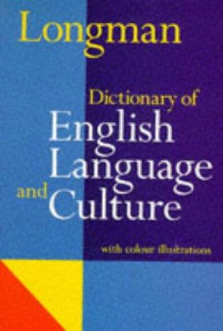 DICTIONNAIRE ENGLISH LANGUAGE AND CULTURE par Addison Wesley Longman