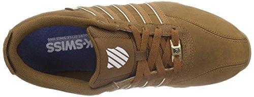 K-Swiss ARVEE 1.5, Sneakers Basses homme Marron - Braun (COGNAC/SADDLE/ANTQ WHITE 213)