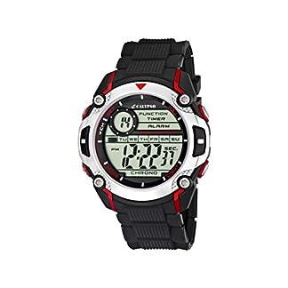Calypso K5577 – Reloj de pulsera para hombres , digital, cuarzo , correa de caucho, color negro