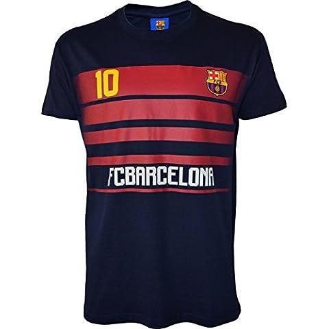 FC Barcelona–Lionel Messi–Maglietta collezione ufficiale FC Barcellona–Taglia
