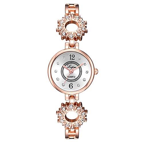 Yallylunn European and American Simple Casual Small and Delicate Women's Bracelet Watch Einstellbar Bleib Stabil Eleganz Den TäGlichen Verschleiß Bequem