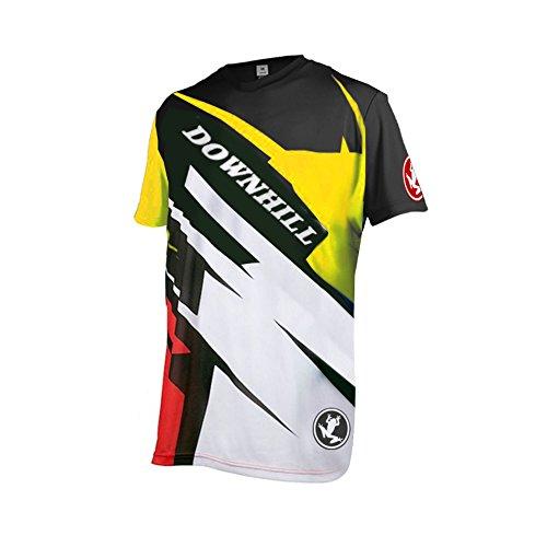 Uglyfrog Downhill Trikot Herren Kurze Ärmel Motocross Freeride BMX Fahrradtrikot Motocross MTB/Downhill Bekleidung Z12M
