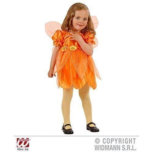 Lively Moments Super süßes Fairy / Fee - Kostüm für Kinder Gr. 98 in orange