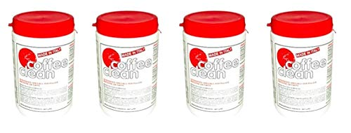 Coffee Clean 4x 3600 g Kaffeemaschinenreiniger Espressomaschinenreiniger Kaffeefettlöser Reiniger...