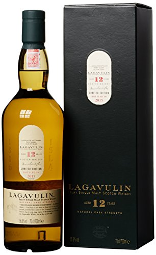 Lagavulin Single Malt 12 Years Old Natural Cask Strength (1 x 0.7 l) -