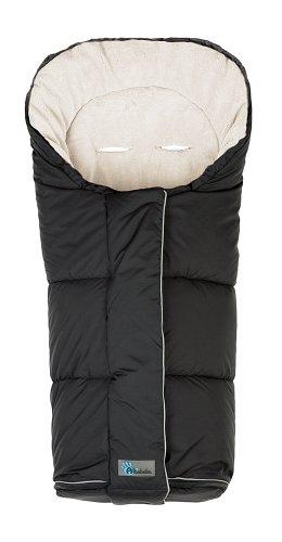 AltaBeBe AL2277C - 14 Winterfußsack, Klimaguard Plus, schwarz/whitewash