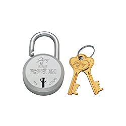 Godrej Locks Freedom 6 Levers - 2 Keys (Aluminium)