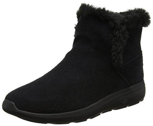 Skechers Damen On-The-go City 2 Chukka Boots Schwarz (Black) 39 EU