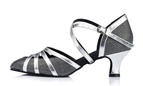 TDA - Strap alla caviglia donna 5cm Heel Black