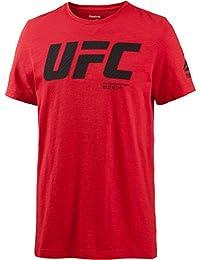 Reebok UFC FG Logo SS Tee T Shirt