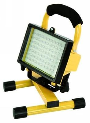 LED-Baustrahler 70 LEDs Baustellenleuchte IP44 inkl. Akku McShine LB-70 450026 von ETT bei Lampenhans.de