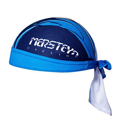 X-Labor Unisex Bandana Cap Atmungsaktiv UV Schutz Kopftuch Bikertuch Fahrrad Radsport MTB Kopfbedeckung blau