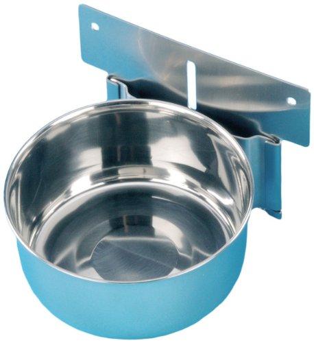 Nobby 38037 Edelstahl-Napf zum Einhängen mittel, 600 ml