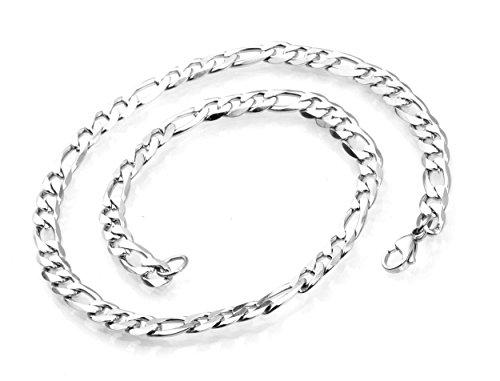Edelstahlkette LUKAS 60 cm Halskette für Männer